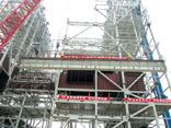 广东平海电厂锅炉钢结构大板梁吊装雷竞技官网下载