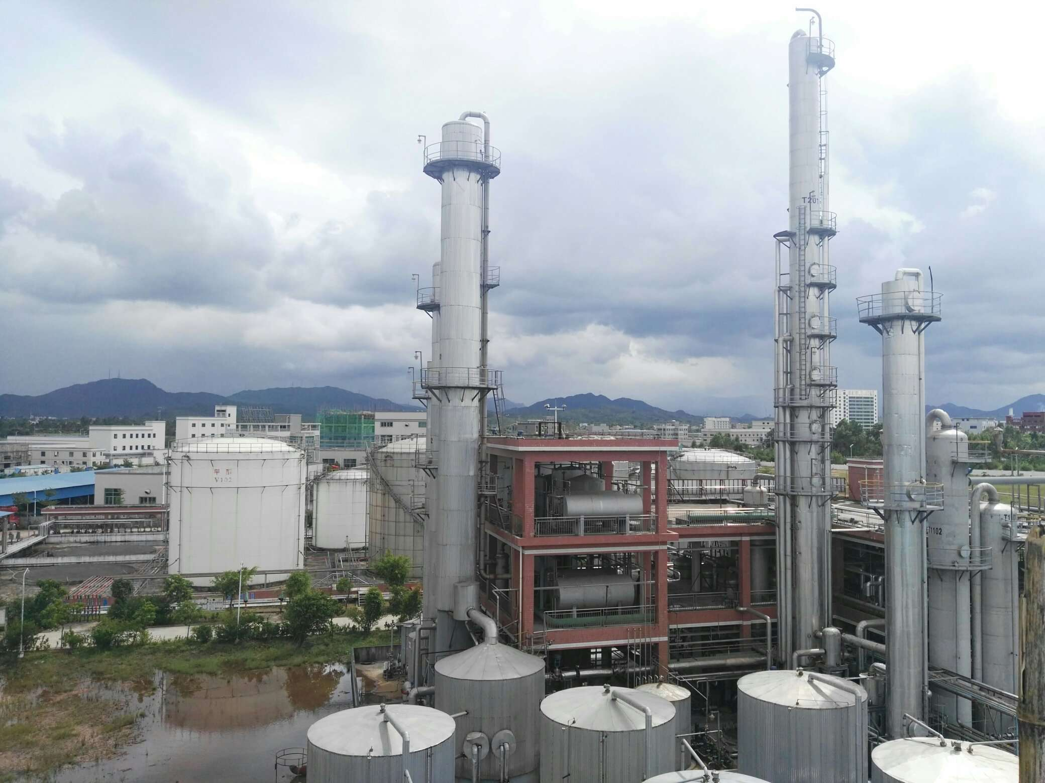 肇庆市利而安实业有限公司年产25万吨化工产品建设项目